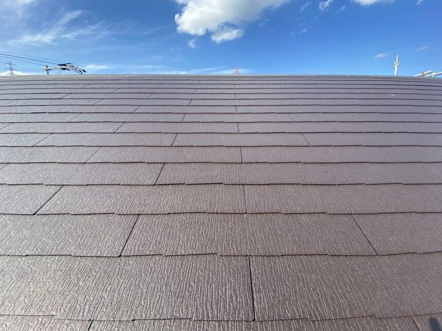塗装後の屋根写真